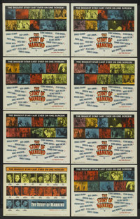 """The Story of Mankind (Warner Brothers, 1957). Lobby Card Set of 8 (11"""" X 14""""). Fantasy. ... (Total: 8 Items)"""