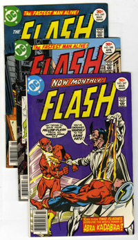 The Flash #247-276 and #278-300 Group (DC, 1977-81) Condition: Average VF.... (Total: 53 Comic Books)