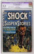 Golden Age (1938-1955):Horror, Shock SuspenStories #5 (EC, 1952) CGC Apparent VF 8.0 Slight (A)Off-white to white pages....