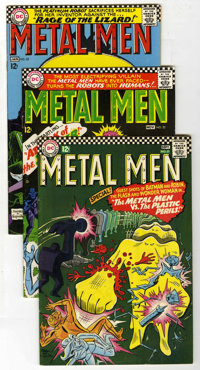 Metal Men #21-28 and 30 Group (DC, 1966-68) Condition: Average VF.... (Total: 9 Comic Books)
