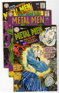 Metal Men #31-41 Group (DC, 1966-68) Condition: Average VF.... (Total: 11 Comic Books)