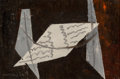 Fine Art - Painting, American:Contemporary   (1950 to present)  , Man Ray (American, 1890-1976). Untitled (Abstract), 1958.Oil on canvas. 8-1/2 x 12-1/2 inches (21.6 x 31.8 cm). Signed ...