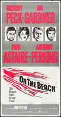 """Movie Posters:Science Fiction, On the Beach (United Artists, 1959). Three Sheet (41"""" X 79"""").Science Fiction.. ..."""