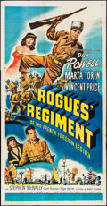 "Movie Posters:Adventure, Rogues' Regiment & Other Lot (Universal International, 1948).Three Sheet (41"" X 79""), One Sheet (27"" X 41""), & Lobby CardS... (Total: 10 Items)"