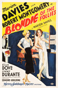 """Movie Posters:Comedy, Blondie of the Follies (MGM, 1932). One Sheet (27"""" X 41"""") Style C.Vincentini (Ted Ireland) Artwork.. ..."""