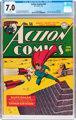Action Comics #56 (DC, 1943) CGC FN/VF 7.0 White pages