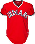 competitive price 8e849 4a0db 1976 Dennis Eckersley Game Worn Cleveland Indians Jersey ...