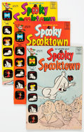 Bronze Age (1970-1979):Cartoon Character, Spooky Spooktown File Copies Box Lot (Harvey, 1969-76) Condition:Average VF/NM....