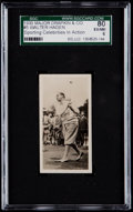 Golf Cards:General, 1930 Major Drapkin & Co. Walter Hagen #5 SGC 80 EX/NM 6....