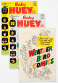 Silver Age (1956-1969):Humor, Baby Huey-Related File Copies Box Lot (Harvey, 1958-72) Condition: Average NM-....