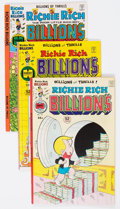 Bronze Age (1970-1979):Cartoon Character, Richie Rich Billions File Copies Box Lot (Harvey, 1976-82)Condition: Average NM-....