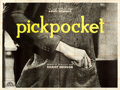 "Movie Posters:Foreign, Pickpocket (Compagnie Cinematographie de France, 1959). French FourPanel (124"" X 39"").. ..."