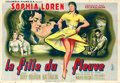 "Movie Posters:Foreign, Woman of the River (Columbia, 1957). French Double Grande (63"" X 92"") Jean Mascii Artwork.. ..."