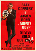 "Movie Posters:James Bond, You Only Live Twice (United Artists, 1967). Italian 4 - Fogli (55""X 78"") Robert McGinnis Artwork.. ..."