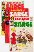 Silver Age (1956-1969):Humor, Sad Sack and the Sarge File Copies Box Lot (Harvey, 1958-82) Condition: Average VF/NM....