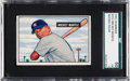 Baseball Cards:Singles (1950-1959), 1951 Bowman Mickey Mantle #253 SGC 60 EX 5....