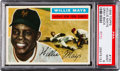 Baseball Cards:Singles (1950-1959), 1956 Topps Willie Mays (Gray Back) #130 PSA Mint 9 - NoneHigher....