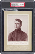 Baseball Cards:Singles (Pre-1930), 1905-11 W600 Sporting Life Napoleon Lajoie (Uniform) PSA EX-MT 6 -Total Pop Two, By Far the Finest of the Pair. ...