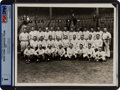 Baseball Collectibles:Photos, 1927 New York Yankees Original News Photograph, PSA/DNA Type 1....