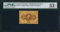 Fractional Currency:First Issue, Fr. 1231 5¢ First Issue PMG About Uncirculated 53 EPQ.. ...