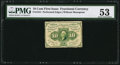 Fractional Currency:First Issue, Fr. 1241 10¢ First Issue PMG About Uncirculated 53.. ...