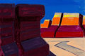 Fine Art - Painting, American:Modern  (1900 1949)  , Conrad Buff (American, 1886-1975). Monument Valley. Oil onboard. 16 x 24 inches (40.6 x 61 cm). Signed lower right:C...