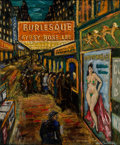 Paintings, Paul Christensen (American, b. 1902). Gypsy Rose Lee. Oil on canvas. 24 x 20 inches (61 x 50.8 cm). Signed lower right: ...