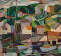 Fine Art - Painting, American:Modern  (1900 1949)  , Clara Deike (American, 1881-1964). The Harbor, 1941. Oil oncanvas. 24 x 26 inches (61 x 66 cm). Signed and dated lower ...