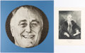 Political:Small Paper (1896-present), Franklin D. Roosevelt: Jigsaw Puzzle and More....