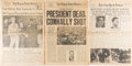 Political:Small Paper (1896-present), John F. Kennedy: Assassination Newspapers....