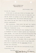 Autographs:U.S. Presidents, First Lady Edith Bolling Wilson Typed Letter Signed. ...
