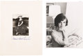 Autographs:U.S. Presidents, Mamie Eisenhower and Jacqueline Kennedy: Photographs.... (Total: 3Items)