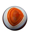 Lapidary Art:Eggs and Spheres, Agate Sphere. Brazil. 1.88 inches (4.8 cm) indiameter . ...