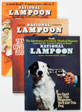 Magazines:Humor, National Lampoon Box Lot (NL Communications, 1970s) Condition:Average FN....