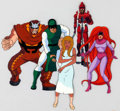 Animation Art:Production Cel, The Fantastic Four Inhumans Production Cel Group of 5(Marvel Films, 1995).. ... (Total: 5 )