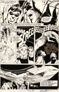 Original Comic Art:Panel Pages, Neal Adams and Dick Giordano Power Records PR-30 RobinMeets Man-Bat! Page 5 Original Art (Power Recor...
