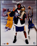 Basketball Collectibles:Photos, Kobe Bryant Signed Oversized Photograph....