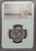 Ancients:Roman Provincial , Ancients: CYRRHESTICA. Cyrrhus. Caracalla (AD 198-217). BItetradrachm. NGC VF....