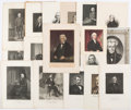 Political:Small Paper (1896-present), James Madison et al: Presidential Portraits and Engravings....
