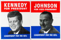 Political:Posters & Broadsides (1896-present), Wendell Willkie et al: Assorted Campaign Posters.... (Total: 2 Items)