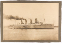 Nautical Photograph: Q.T.S.S. Mauretania