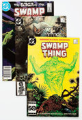 Modern Age (1980-Present):Superhero, Saga of the Swamp Thing #21-64 Group (DC, 1984-87) Condition:Average FN/VF.... (Total: 45 Comic Books)