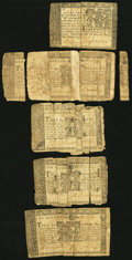 Colonial Notes:Maryland, Maryland March 1, 1770 $1 (4); $4 (2) Fair.. ... (Total: 6 notes)