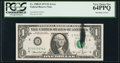 Error Notes:Ink Smears, Fr. 1908-D $1 1974 Federal Reserve Note. PCGS Very Choice New64PPQ.. ...