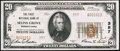 National Bank Notes:Pennsylvania, Selins Grove, PA - $20 1929 Ty. 2 The First NB Ch. # 357. ...