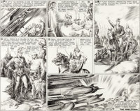 Alex Raymond Flash Gordon Original Art dated 10-27-35 (King Features Syndicate, 1935)