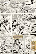 Original Comic Art:Panel Pages, John Byrne and Terry Austin X-Men #128 Story Page 3 OriginalArt (Marvel, 1979)....
