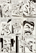 Original Comic Art:Panel Pages, Steve Ditko Amazing Spider-Man #34 Story Page 16 OriginalArt (Marvel, 1966)....