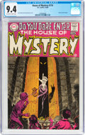 Silver Age (1956-1969):Horror, House of Mystery #174 (DC, 1968) CGC NM 9.4 Off-white to whitepages....
