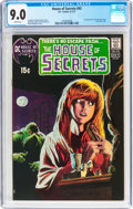 Bronze Age (1970-1979):Horror, House of Secrets #92 (DC, 1971) CGC VF/NM 9.0 White pages....